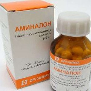 Aminalon 250mg 100 pills